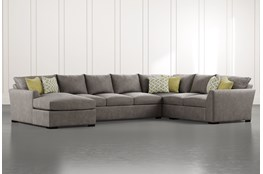 Cohen Foam II 3 Piece Sectional With Left Arm Facing Chaise