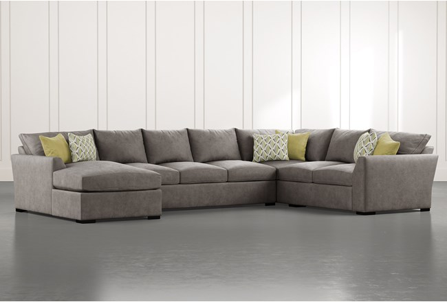 Cohen Foam II 3 Piece Sectional With Left Arm Facing Chaise - 360