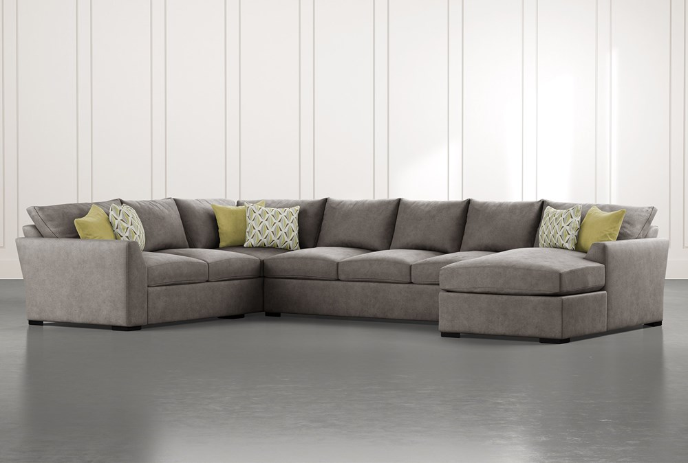 Cohen Foam II 3 Piece Sectional With Right Arm Facing Chaise