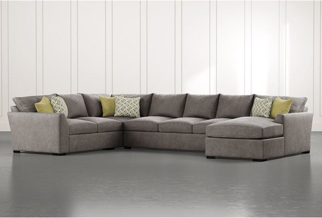 Cohen Foam II 3 Piece Sectional With Right Arm Facing Chaise - 360