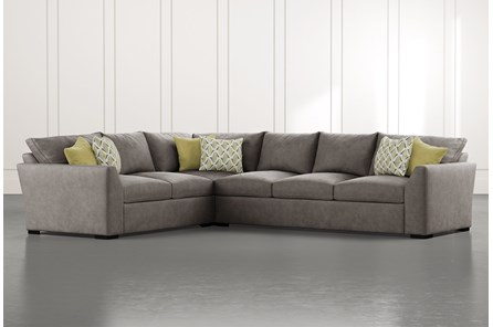 Cohen Foam II 2 Piece Sectional With Right Arm Facing Sofa