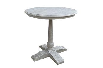 Otb Antique White Bistro/Pub Table
