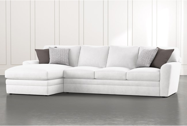 Prestige Down 2 Piece Sectional With Left Arm Facing Chaise - 360