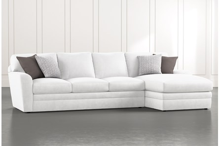 Prestige Down 2 Piece Sectional With Right Arm Facing Chaise