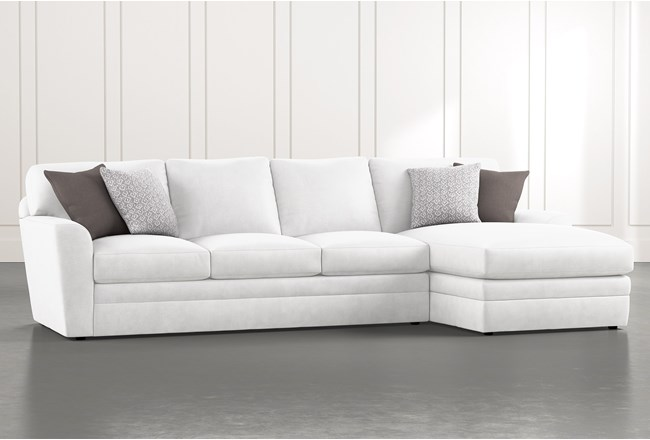 Prestige Down 2 Piece Sectional With Right Arm Facing Chaise - 360