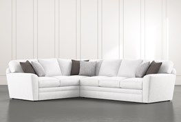 """Prestige Down 2 Piece 129"""" Sectional With Right Arm Facing Sofa"""