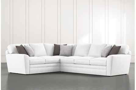 Prestige Down 2 Piece Sectional With Right Arm Facing Sofa - Main
