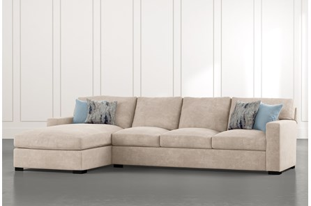 Mercer Down II 2 Piece Sectional With Left Arm Facing Chaise