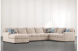 Mercer Down II 3 Piece Sectional With Left Arm Facing Chaise