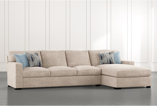 Mercer Down II 2 Piece Sectional With Right Arm Facing Chaise - 360