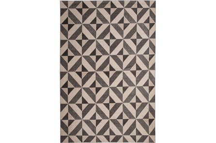 96X120 Rug-Charcoal Mahal Diamond