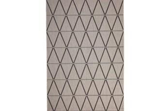 63X90 Rug-Graphite Diamond Stripe