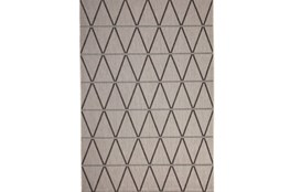 93X126 Rug-Graphite Diamond Stripe