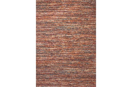 63X90 Rug-Red & Orange Bellevue Rain