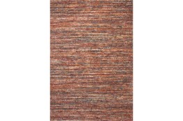 94X134 Rug-Red & Orange Bellevue Rain