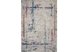 "5'3""x7'5"" Rug-Blue & Grey Rivington Square"