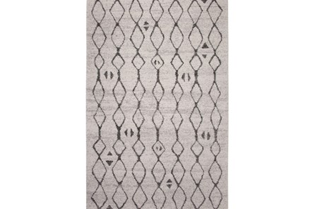 63X90 Rug-Grey & Black Matador Links