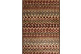 60X90 Rug-Brown & Red Anaya Pattern
