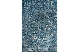 96X120 Rug-Blue Azurite Ocean