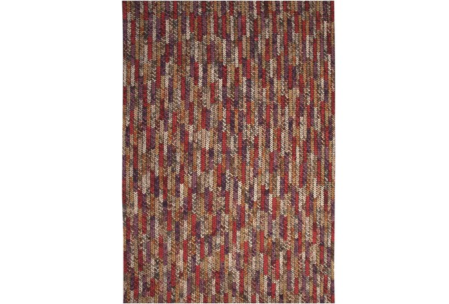 60X96 Rug-Sunset Chunky Wook Knit - 360