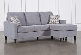 """Stark 80"""" Sofa With Reversible Chaise"""