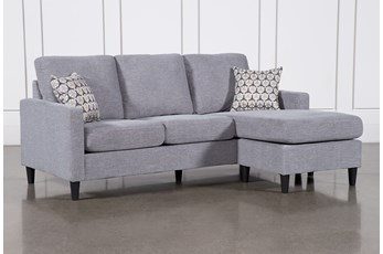 "Stark 80"" Sofa With Reversible Chaise"