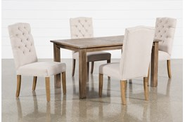 Highlands 5 Piece Dining Set With Biltmore Chairs