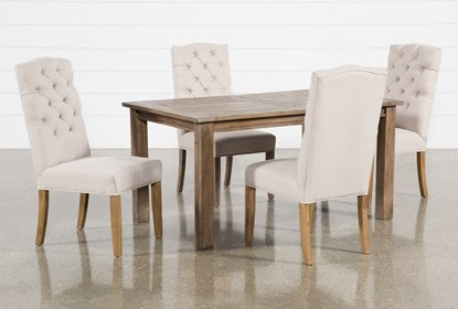 Swell Highlands 5 Piece Dining Set With Biltmore Chairs Ibusinesslaw Wood Chair Design Ideas Ibusinesslaworg