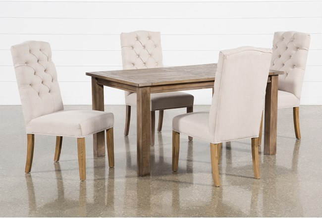 Highlands 5 Piece Dining Set With Biltmore Chairs - 360