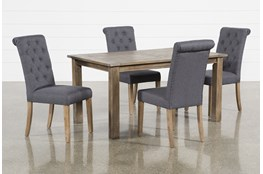 Highlands 5 Piece Dining Set With Lowes Chairs