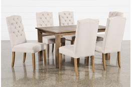 Highlands 7 Piece Dining Set With Biltmore Chairs