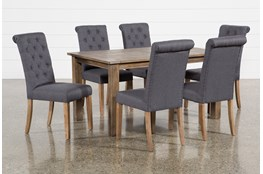 Highlands 7 Piece Dining Set With Lowes Chairs