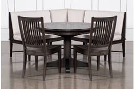 Valencia 4 Piece Banquette Dining Set With Valencia Chair