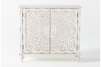 Ellis II Carved Door Accent Chest