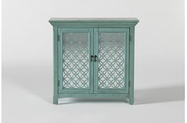 Lewis II Green Accent Chest