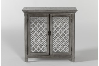 Lewis II Silver Accent Chest