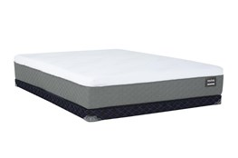 Series 6 Hybrid Queen Mattress With Low Profile Foundation