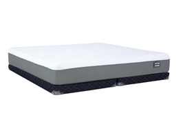 Kit-Revive Series 6 Hybrid Ek Mattress W/Low Profile Foundation