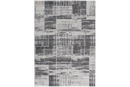 5'x7' Rug-Mosaic Light Grey