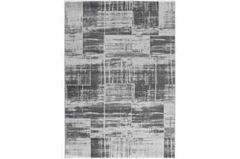 5'x7' Rug-Mosaic Light Grey