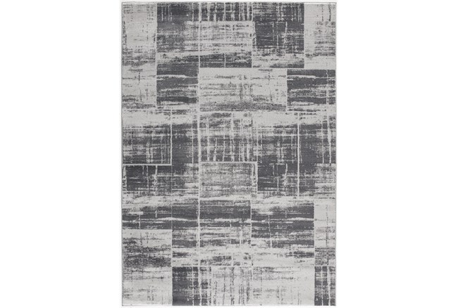 5'x7' Rug-Mosaic Light Grey - 360