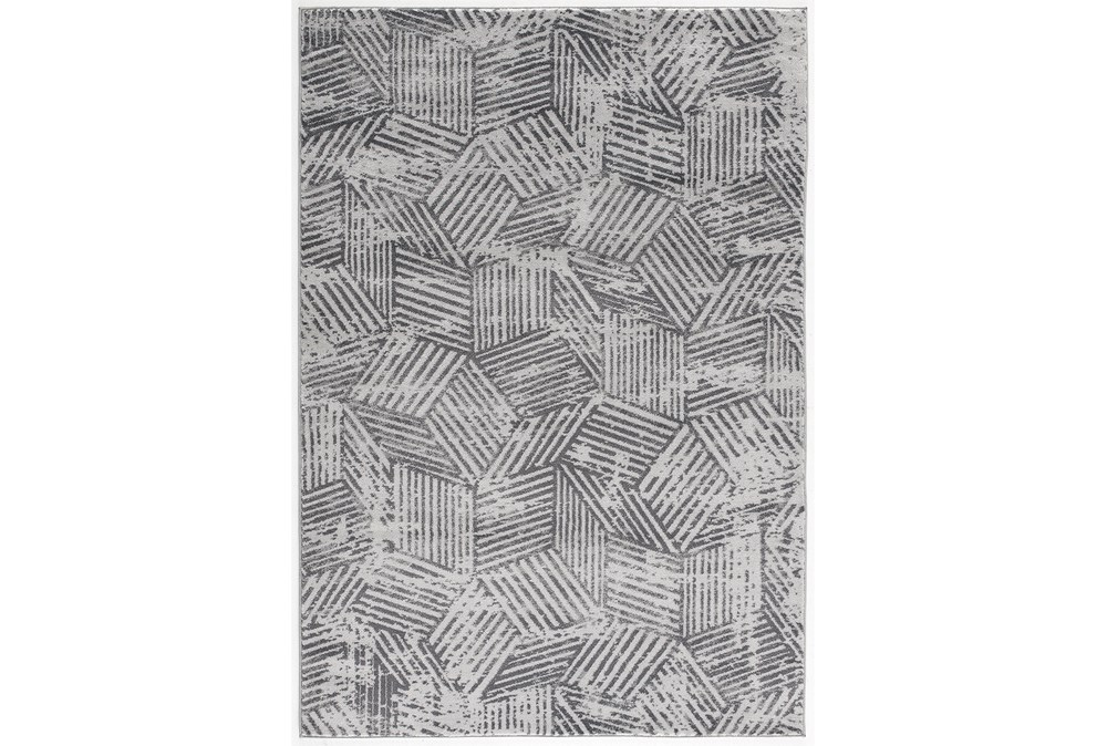5'x7' Rug-Cubix Grey