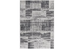 90X126 Rug-Mosaic Light Grey