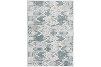 "7'5""x10'5"" Rug-Sawtooth Blue"