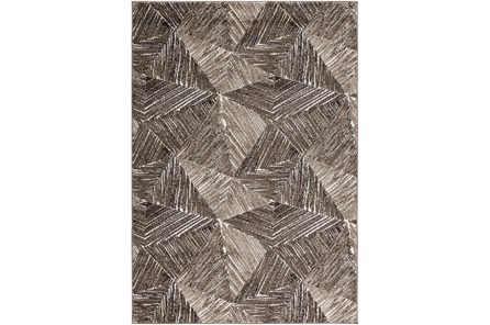 63X90 Rug-Vector Brown