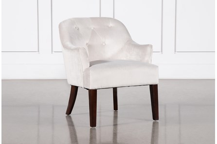 Amy Beige Accent Chair