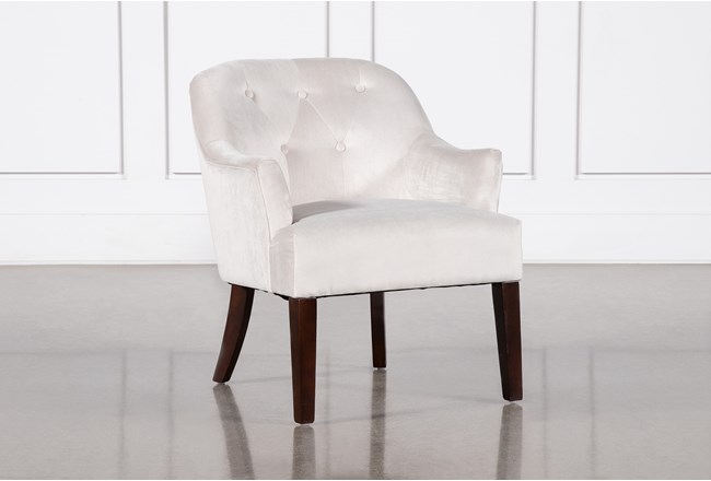 Amy Beige Accent Chair - 360