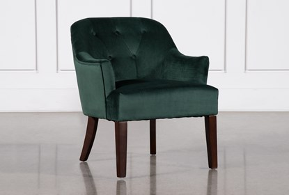 Admirable Amy Emerald Accent Chair Short Links Chair Design For Home Short Linksinfo