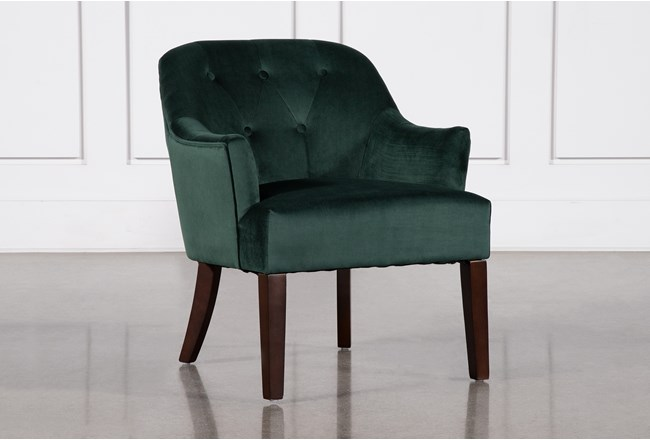 Amy Emerald Accent Chair - 360