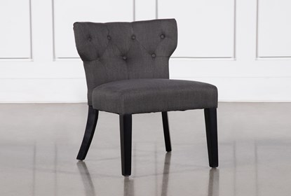 Fantastic Ella Grey Accent Chair Short Links Chair Design For Home Short Linksinfo